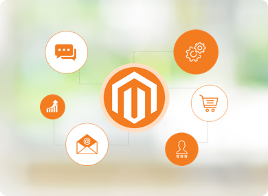 Magento integrations illustration